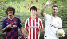 برشلونة وأتلتيكو وريال مدريد: من يبدو أفضل قبل بداية الموسم الجديد ؟