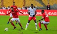 الأهلي يتصدر الدوري المصري مؤقتا بالفوز على مصر المقاصة