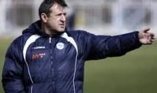اقالة مدرب البوسنة بعد الاداء المتراجع