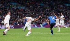 أمم اوروبا 2020: ايطاليا الى النهائي بفوزها امام اسبانيا بضربات الترجيح
