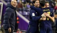 ريال يسعى للحفاظ على الصدارة من بوابة دربي مدريد