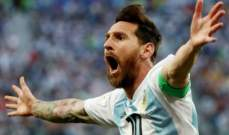 سورين: على الأرجنتين الإهتمام بميسي