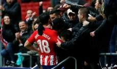 الاتلتيكو يحسم ديربي مدريد امام خيتافي ويواصل الضغط على برشلونة