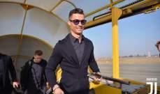رونالدو في طريقه إلى مدريد