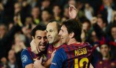 ميسي الأكثر مشاركة مع برشلونة على الإطلاق