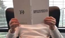 كيمي رايكونين يروّج لكتابه