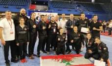 لبنان يحصد 14ميدالية ملونة في فرنسا