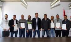 الاتحاد اللبناني للتنس نظّم  دورة مدربين