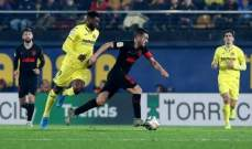 الليغا: اتلتيكو مدريد يضيع النقاط مجددا ويكتفي بالتعادل امام فياريال