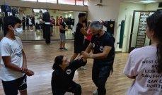 دورة تدريبية لاتحاد الكونغ فو لبنان في أسلوب الدفاع عن النفس