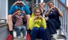 كلايسترز وعائلتها يشكرون الاطباء في بلجيكا