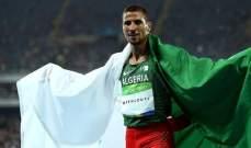 العداء الجزائري مخلوفي ينعي مدربه الاول