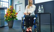 كريستينا فوغل تلهم كثيرين رغم الإعاقة