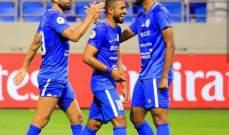 النصر يهزم الوحدة في الدوري الإماراتي