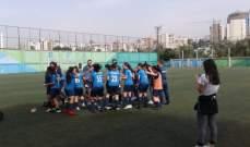 بطولة لبنان للشابات دون 19 عاماً بيريتوس يخطف هدف الصدارة