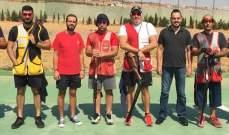 رماية : رالف أعرج بطل المرحلة السابعة من بطولة لبنان للتراب الفئة(أ) ممتاز