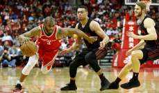 NBA: غولدن ستايت يتعرض للخسارة ال22 وهيوستن يفوز على بورتلاند