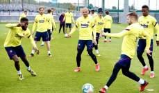 برشلونة يعود للتدريبات استعداداً لمواجهة مايوركا