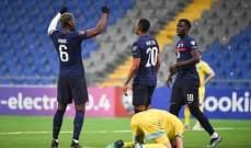 منتخب فرنسا يحقق المطلوب امام نظيره الكازاخستاني بثنائية نظيفة