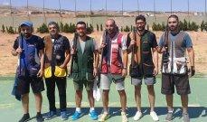 رماية: طنّوس الخوري بطل المرحلة الثالثة من بطولة لبنان للتراب الفئة(أ)