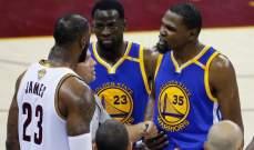NBA: الحكام لم يحتسبوا 3 اخطاء على دورانت وخطأ على ليبرون في مباراة الميلاد