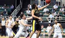 سلة لبنان: الرياضي يواصل تفوقه على غريمه الحكمة