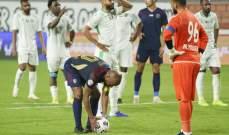 حكم مباراة الوحدة وخورفكان أصاب في محلات كثيرة وأخطأ في قرار واحد