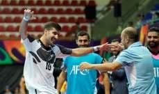 كرة الصالات : بنك بيروت الى ربع نهائي بطولة آسيا بسحقه سيبار الطاجيكستاني