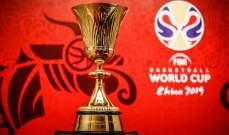 الاعلان عن موعد قرعة نهائيات كاس العالم لكرة السلة 2019