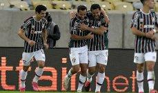 فلومينينسي يُكمل عقد ربع نهائي كأس ليبرتادوريس