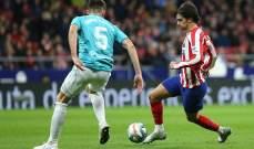 اتلتيكو مدريد يعود الى سكة الإنتصارات امام اوساسونا