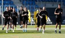 ريال مدريد يستعد للديربي بتواجد مارسيلو