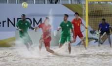 شاطئية نيوم : الإمارات تتغلب على إنكلترا.. والسعودية تهزم الصين