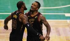 NBA : كليفلاند يفوز على سيلتيك ويتوّج بطل الشرقية