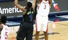 NBA : هيوستن روكتس وتورنتو يبتعدان في الصدارة بعد سقوط بوسطن وغولدن ستايت