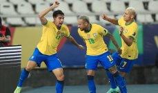كوبا اميركا: البرازيل تفوز على بيرو وتصل الى النهائي