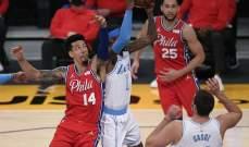 NBA: الليكرز يسقط للمرة الرابعة على التوالي بغياب ليبرون