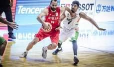سوريا تهزم الهند في تصفيات مونديال السلة
