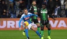 الكالتشيو: فوز اول صعب لنابولي غاتوزو امام ساسولو
