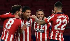 أرقام اتلتيكو مدريد هذا الموسم تعكس تفاؤلا كبيرا للفوز باللقب