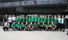 وصول بعثة منتخب استراليا للشابات لكرة القدم الى بيروت