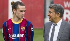 برشلونة يفاوض اتلتيكو دون إبلاغ غريزمان
