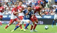 الليغ 1: خسارة موناكو وفوز سانت ايتيان ومونبيلييه
