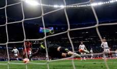 متى تم تسجيل الأهداف في مباريات دوري ابطال اوروبا؟
