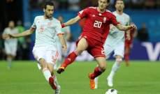 بوسكيتس سعيد بالفوز على ايران