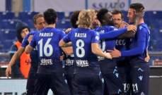 كأس ايطاليا : لاتسيو يعبر الى نصف النهائي بعد تخطيه عقبة فيورنتينا