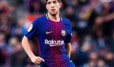 تجديد عقد سيرجي روبرتو مع برشلونة
