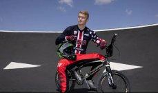 اولمبياد طوكيو: نقل درّاج اميركي الى المستشفى