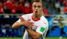 شاكيري يدافع عن أدائه ضد منتخب فرنسا