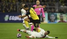 كان يؤكد ان دورتموند قدم مباراة جيدة امام باريس سان جيرمان
